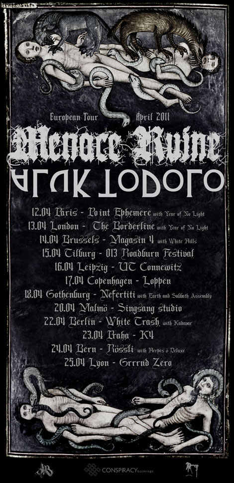 aluk todolo menace ruine europe tour